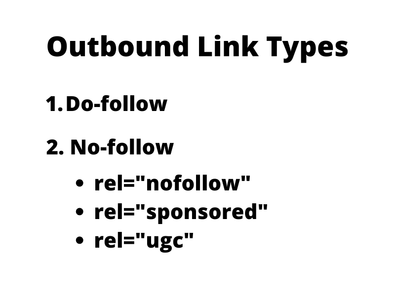 Outbound Link Types