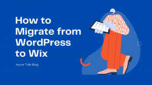 Migrate from Wordpress to Wix