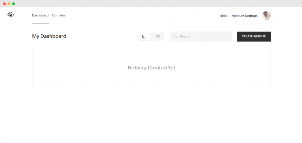 Dashboard - How to create a blog with Squarespace