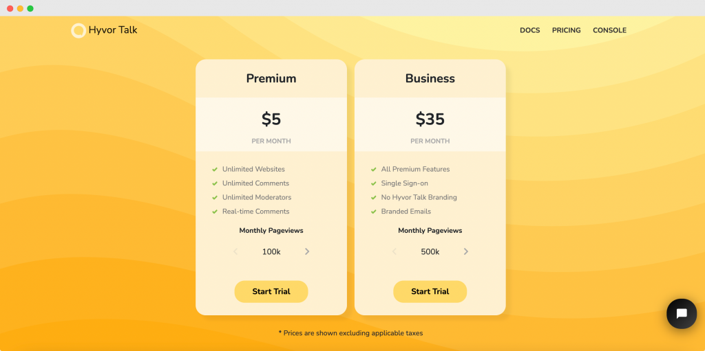 Best WordPress Commenting Plugin - Pricing Plans